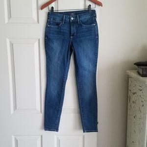 "NYDJ 2P Super Skinny Jean's 26.5""x27.5"" Excellent!"
